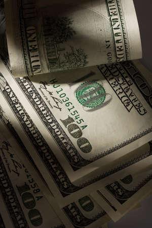 dollar bills: Immagine per ricchezza di foto. Molti dollaro americano