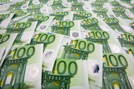 euro banknotes: Many Euro banknotes money. Image Photos of wealth