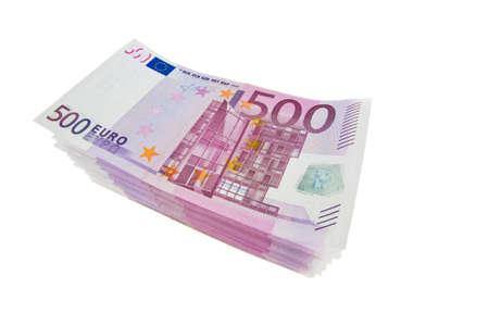 Many Euro banknotes money. Image Photos of wealth photo