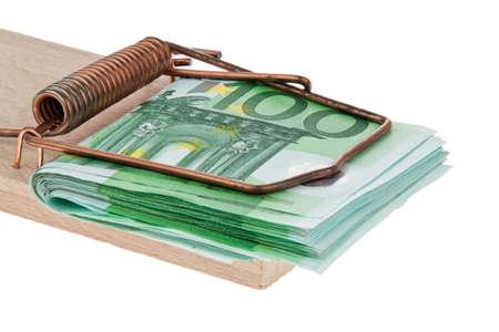 mousetrap: Mousetrap con? fatture. Immagine crediti e prestiti. Archivio Fotografico