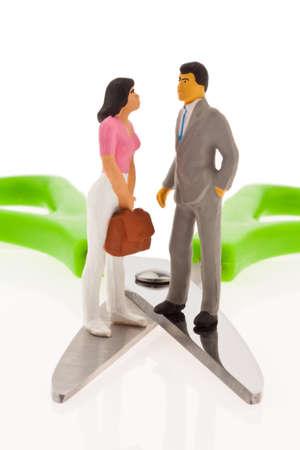 remuneraci�n: Brecha de ingresos. Diferentes ingresos entre marido y mujer