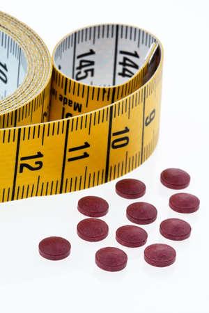 generic drugs: tavolette e medicina phto di simbolo per pillole di dieta