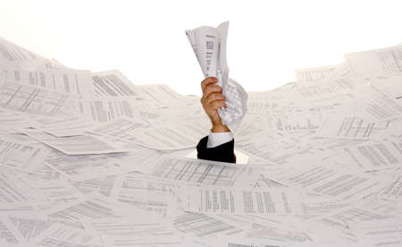burocracia: Estresse no escrit�rio, a burocracia e papel de arquivamento