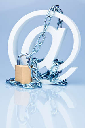 Data security on the Internet. Safe surfing the web Stock Photo - 8840210