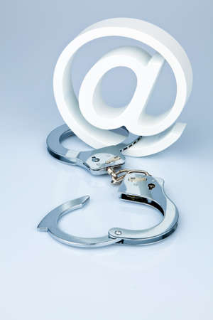 Data security on the Internet. Safe surfing the web Stock Photo - 8840204