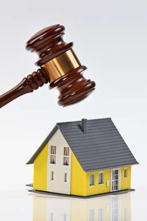 Symbol of worldwide real estate crisis in America photo