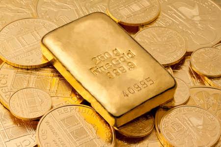 lingotes de oro: Inversi�n en oro real de lingotes de oro y monedas de oro