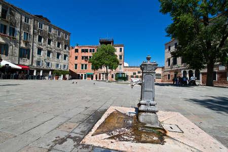 jewish quarter: The lovely city of Venice in Italy. Jewish quarter, ghetto