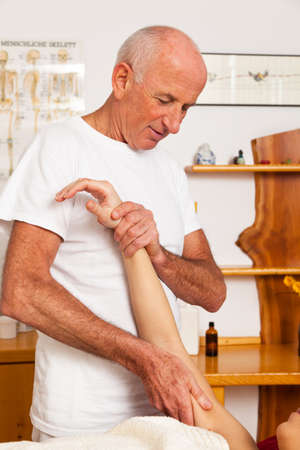 Relaxation, peace and well eing through massage. Stock Photo - 9199382
