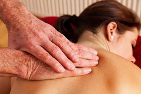 Relaxation, peace and well being through massage. Stock Photo - 9199385