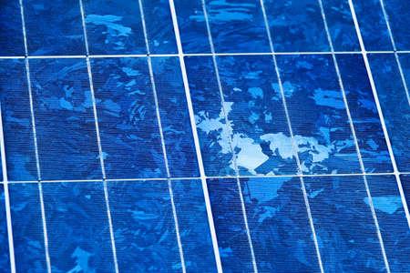 energia solar: Energ�a solar renovable y alternativa. Planta de energ�a solar.