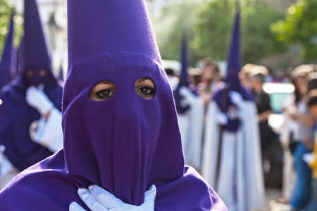 processions: Spain, Andalusia. The highlight of Holy Week processions