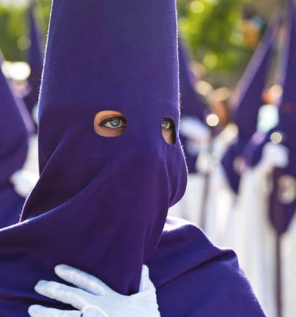 processions: 20042011 - Spain, Andalusia. The highlight of Holy Week processions  Stock Photo