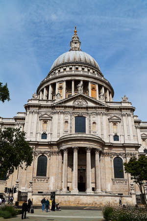 The St. Pauls Cathedral in London, England. Churches in United Kingdom photo