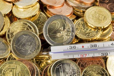 crisis economica: Term�metros de dinero y fiebre de euro. Y la crisis econ�mica en Europa.