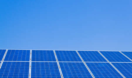 renewable, alternative solar energy. solar energy power plant. Stock Photo - 11103766