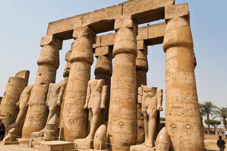 africa, egypt, luxor amun temple of luxor. Stock Photo - 11103779