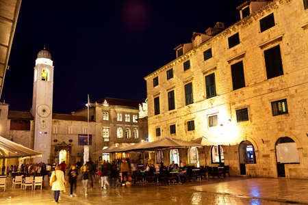 croatia dubrovnik: the city of dubrovnik in croatia.  Stock Photo