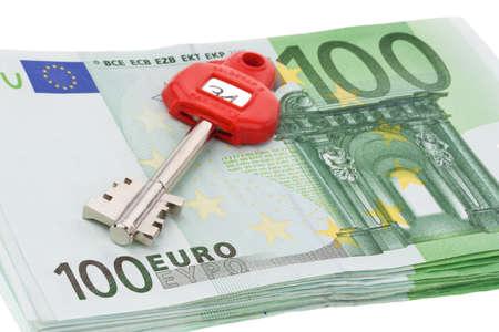 abolished: many euro banknotes of the european union. Stock Photo