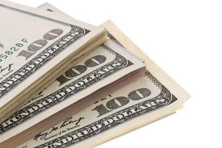 apilar: muchos proyectos de ley en dólares son en cada pila