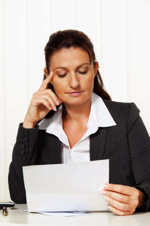 summons: young lawyer in the office. attorney for the law. Stock Photo