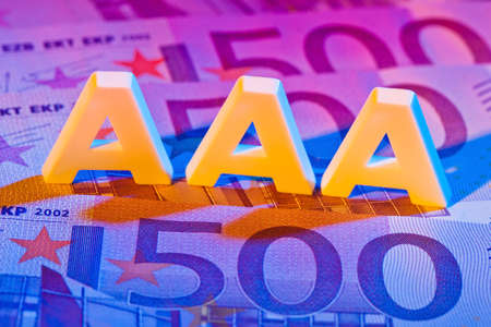indebtedness: a rating agency has awarded the 3a letters. triple-a rating from a rating agency.