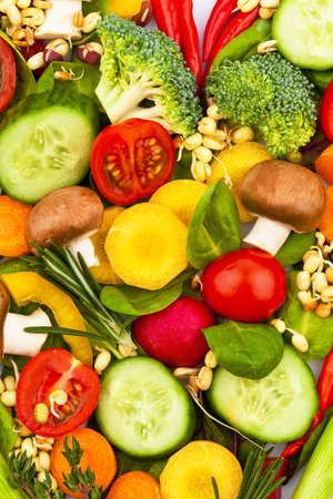 hipertension: un corazón hecho de vegetales. foto de icono en la dieta, la pérdida de peso y la dieta saludable. Foto de archivo