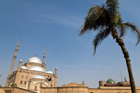 egypt, cairo  mohammed ali mosque  alabsater mosque  outside  photo