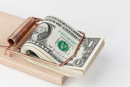 piege souris: de nombreux projets de loi dollar am�ricain en pi�ge � souris