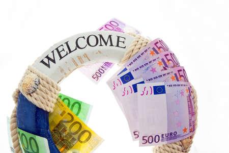 indebtedness: salvezza per la Grecia simbolo di debito nazionale