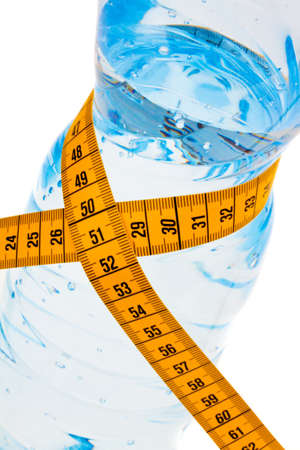 mineral water  symbol for diet and weight loss  Stock Photo - 13507597
