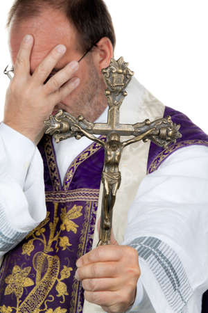 abstinence: a catholic priest is desperately
