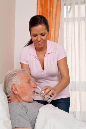 socially: a nurse in aged care for the elderly in nursing homes