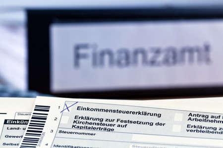 depreciation: a german tax return for income tax is mandatory