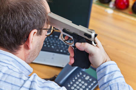 psychologically: a farewell letter and the gun of a suicide