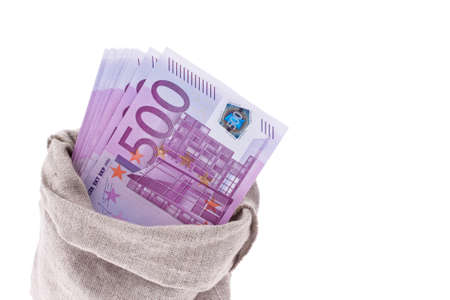 many euro banknotes of the european union  Stock Photo - 14414993