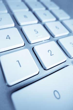 edv: i tasti di un computer in primo piano l'elaborazione dei dati e Internet Archivio Fotografico