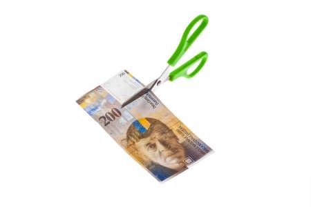 frank szwajcarski: frank szwajcarski banknoty walutowej Szwajcarii