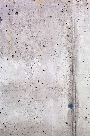 demarcation: a gray concrete wall for background Stock Photo