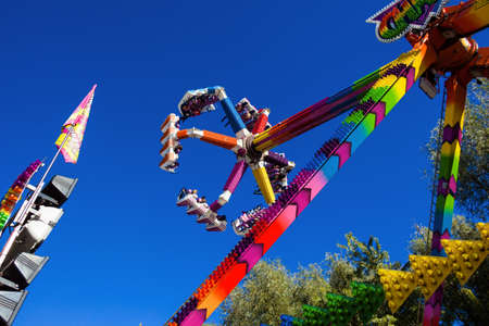 exuberance: rides at a folk festival  mood and thrill