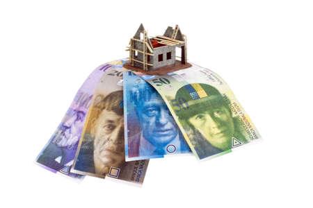 single familiy: franco suizo billetes en moneda de Suiza