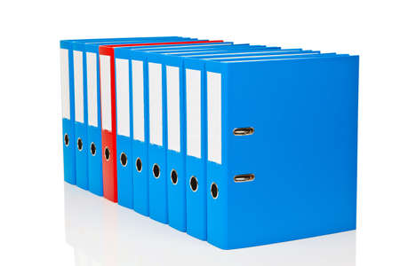 archives: file folder with documents and documents  storage contracts