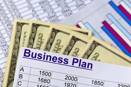 a business plan Stock Photo - 16338217