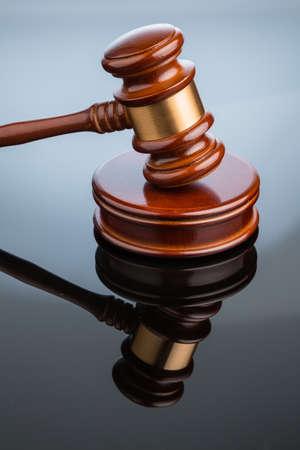 gavel  gavel  on white background  symbolic photo for justice Stock Photo - 16872200