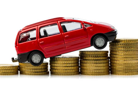 rising costs in the car by workshop costs  Stock Photo - 17122212