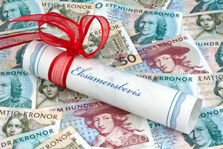 education in sweden: swedish krona, the currency of sweden  cost of education