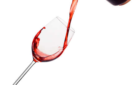 empties: in a glass of red wine is lively empties  red wine in a wine glass