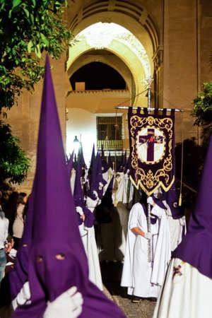 semana santa: 20 04 2011 - spain, andalusia  highlight of holy week processions  semana santa  are  here in cordoba