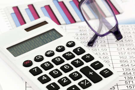 examiner: a calculator and various statistics when calculating the balance sheet, revenue and profit