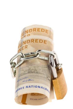 safe investments: Corone danesi Valuta dalla Danimarca in Europa e un sicuro investimento blocco di denaro
